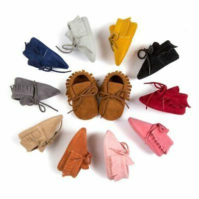 Newborn Cute Tassel Soft Toddler Shoes