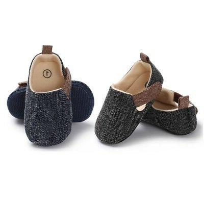 Newborn Infant Kids Shoes Soft Sole Crib Shoes 0-18M