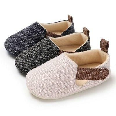 Newborn Baby Kids Shoes Sole 0-18M