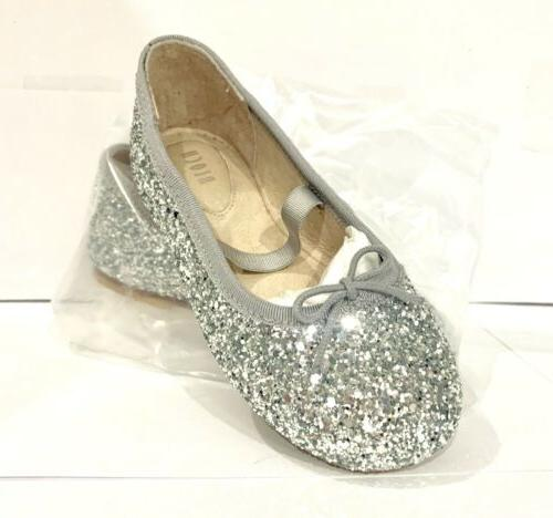 8 Flat Shoes Silver