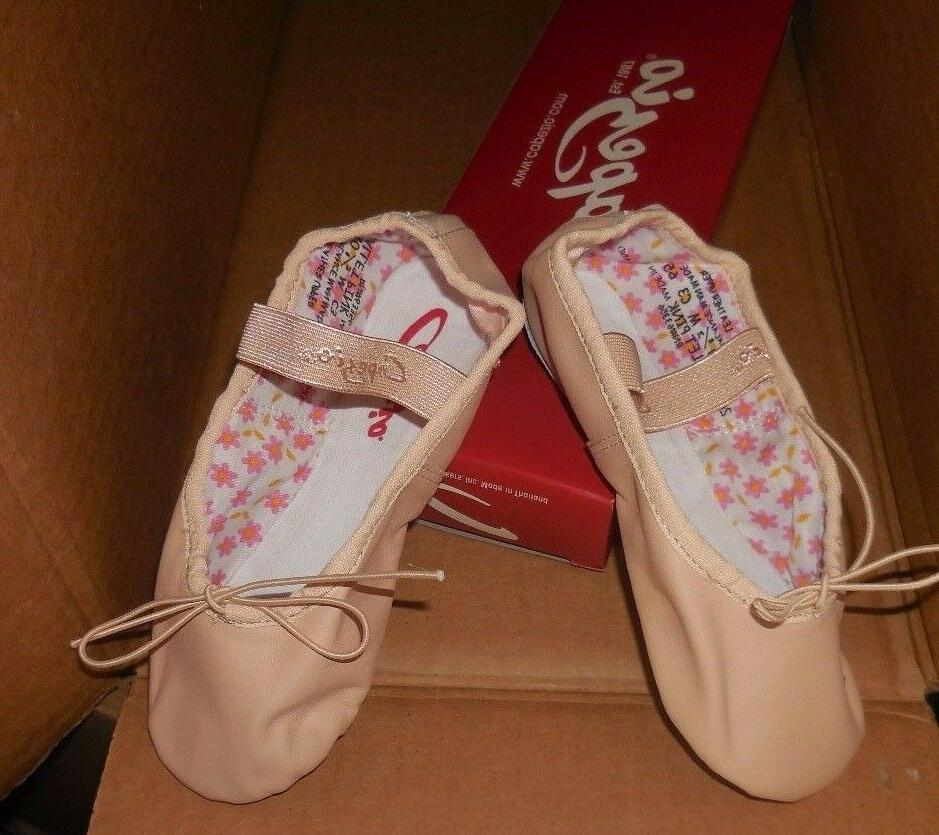 CAPEZIO Daisy Sizes BPink attached elas New