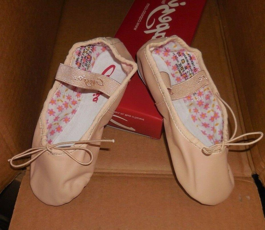 CAPEZIO Daisy GIRLS Sizes BPink Full attached New