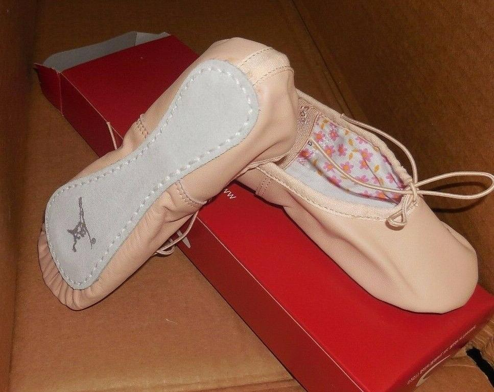 CAPEZIO Daisy Sizes BPink Full Sole attached elas shoes New