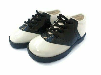 Pitter Patter PATENT or REGULAR SADDLE SHOES Infant Toddler