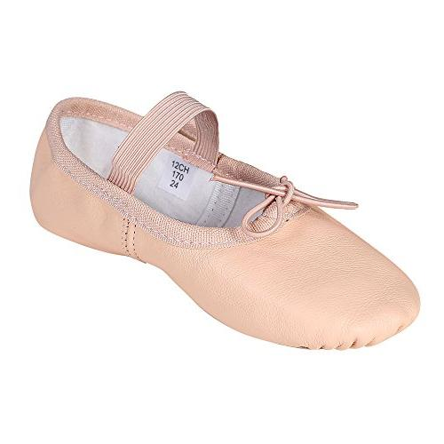 premium leather ballet slipper ballet shoes toddler