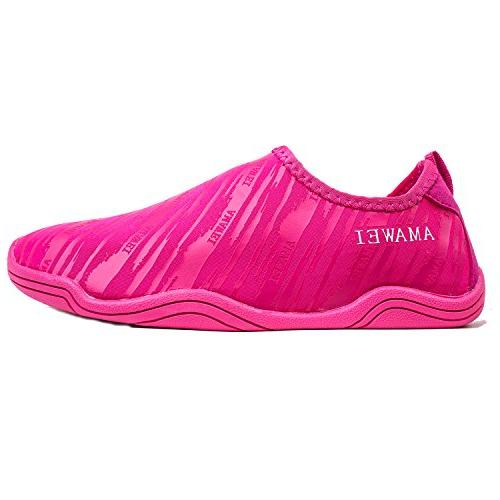 AMAWEI Dry Water Shoes for Boys Girls Kids Sole Beach Sports