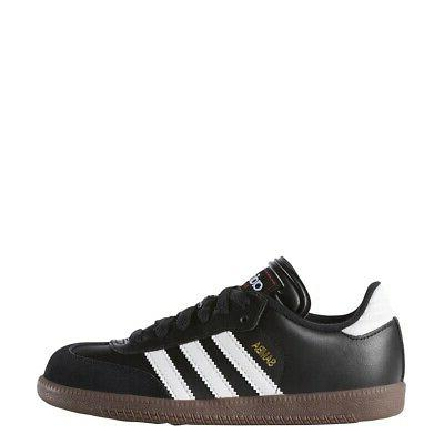 Adidas Samba Classic Junior Soccer Shoe - Black - 036516