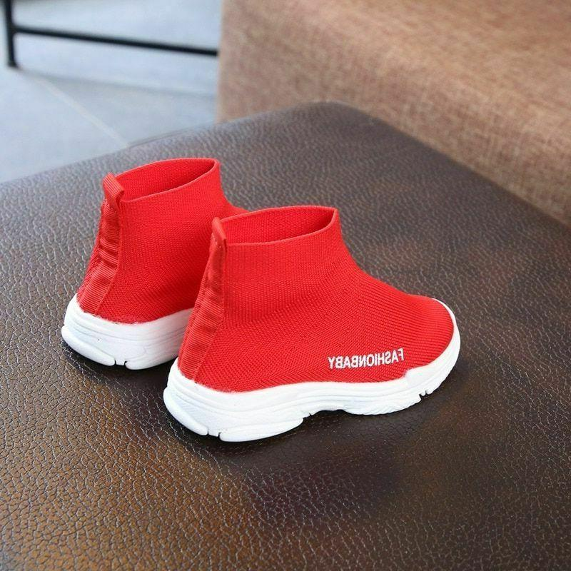 Style Child Toddler For Boy Girl Mesh Ankle Sneakers 1-6Y