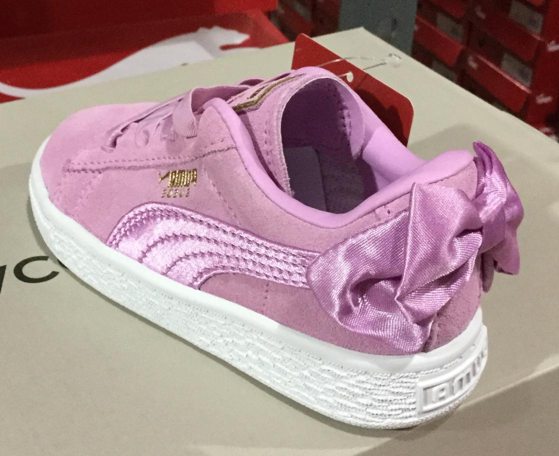 Puma Bow Infant Shoes L