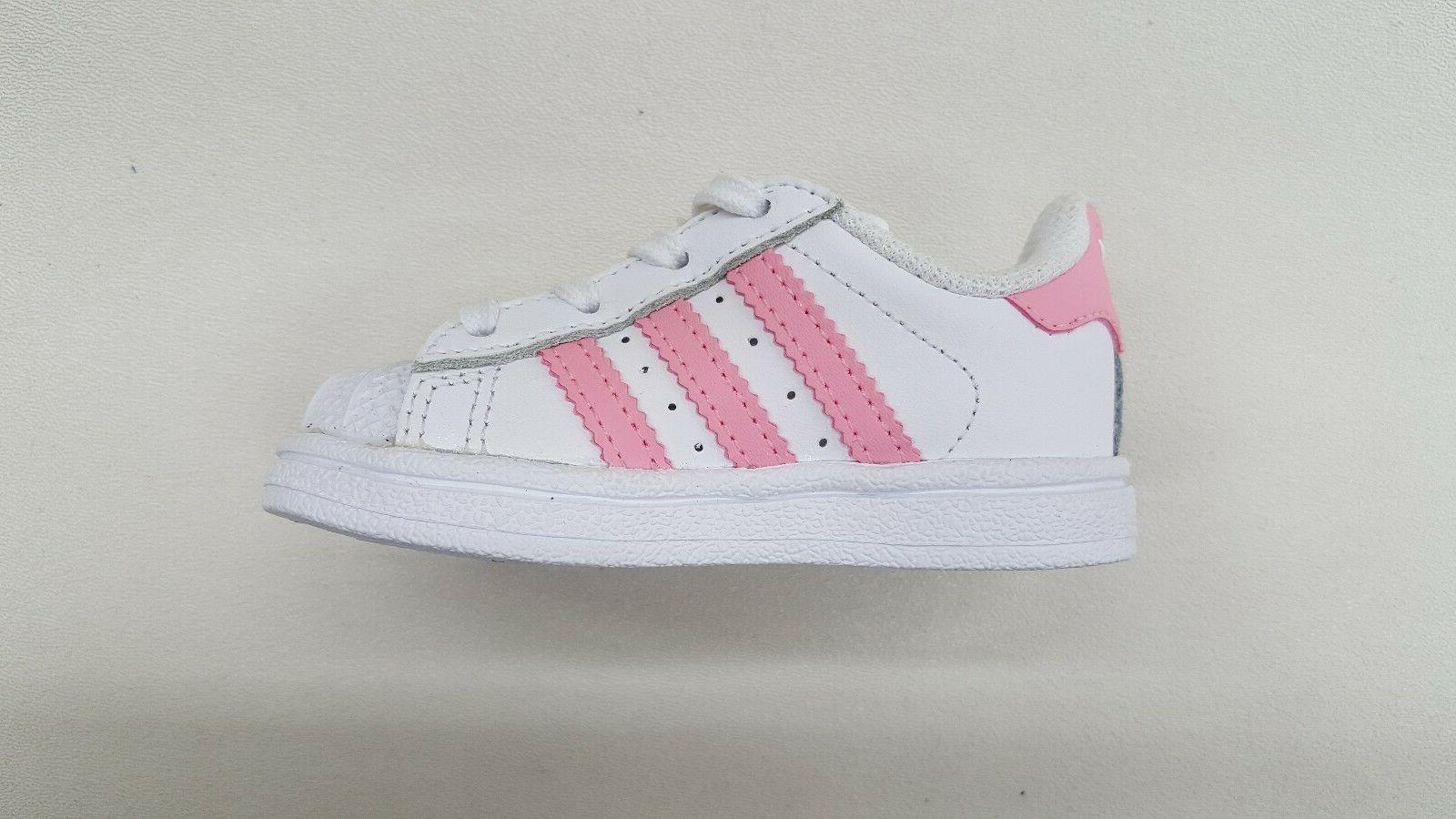 ADIDAS SUPERSTAR II WHITE LIGHT BABY SNEAKERS