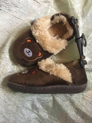 TODDLER BEAR SIZE 7-8 KIDS RUBBER SOLES