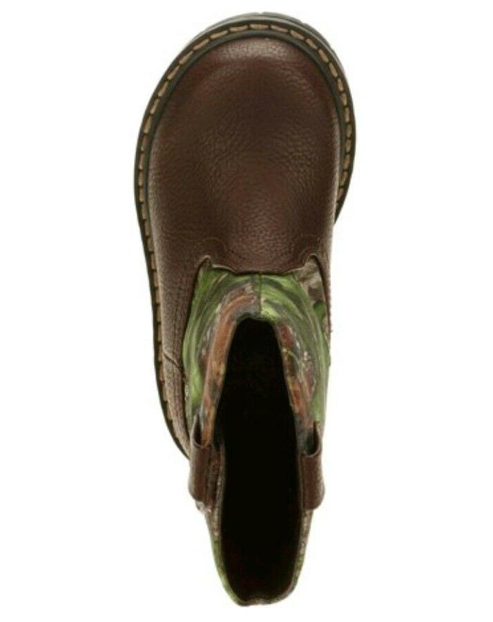 Mossy Toddler Camo Casual Boots Shoes: All 7-11