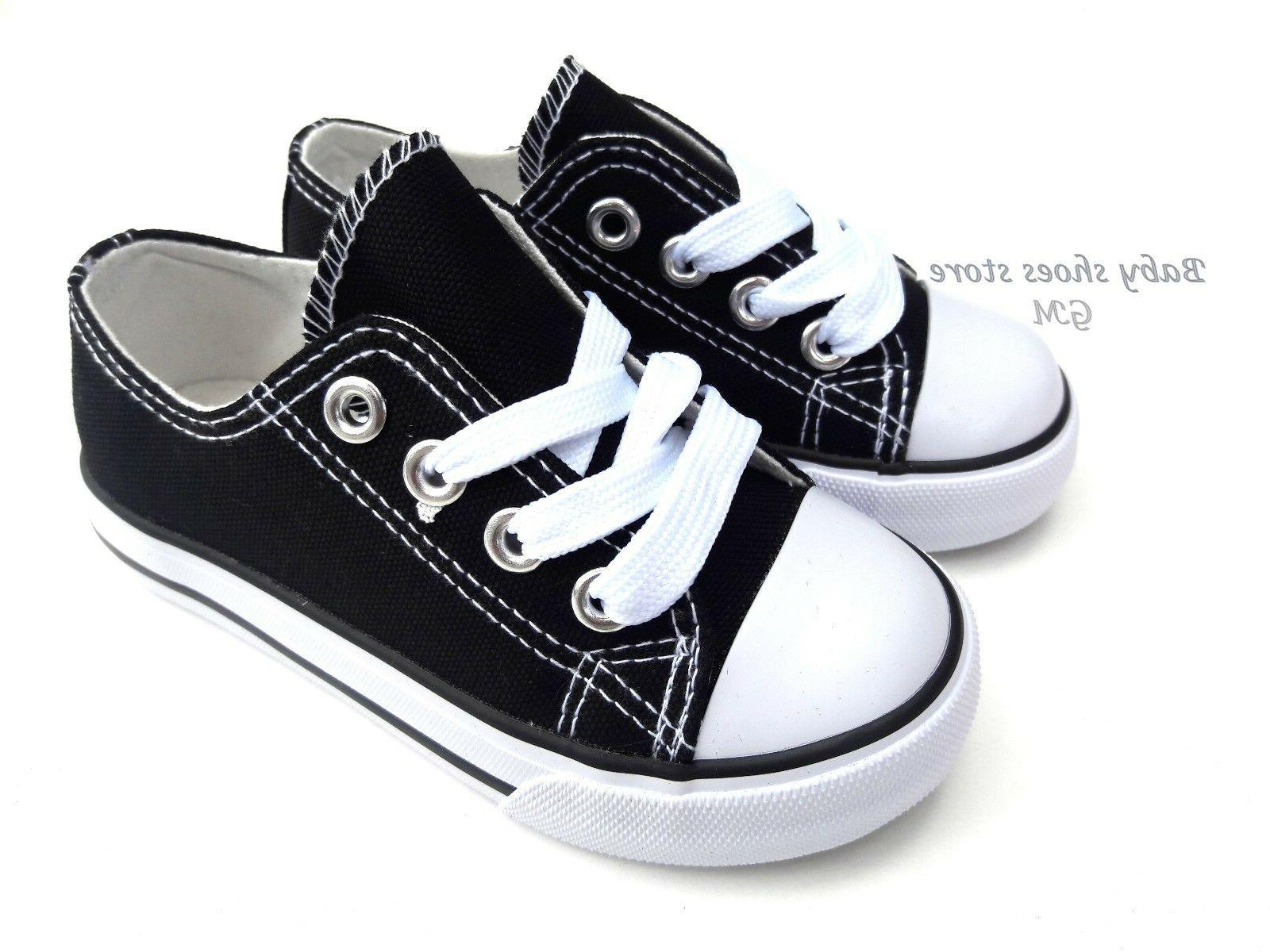 Toddler Kids boys low top shoes 7-10