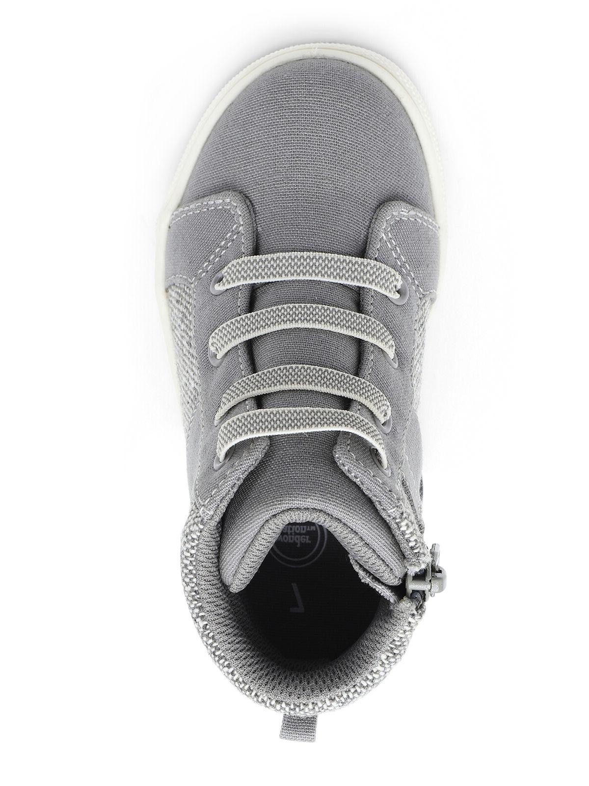 Gray Casual Sneakers Shoes:
