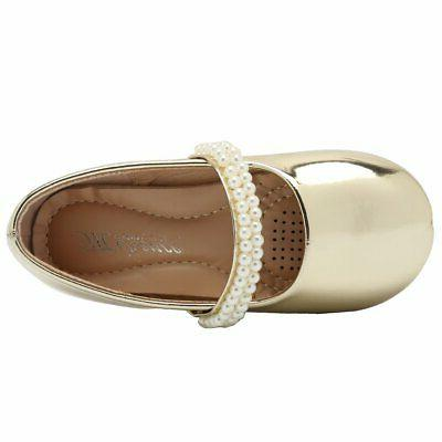 CIOR Toddler Girls Flats Shoes Ballerina Jane, Size