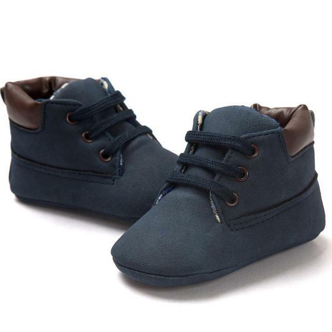 Toddler Baby Boy Girl Leather Crib Shoes YW