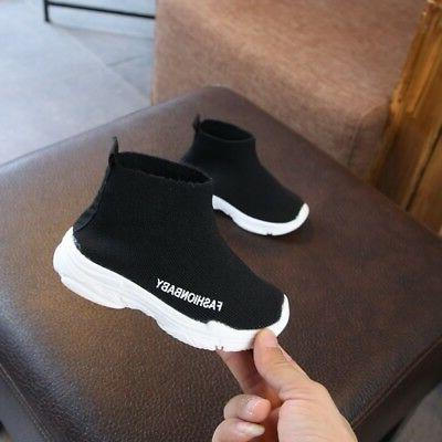 Toddler Sneakers Anti-Slip Sports Shoes