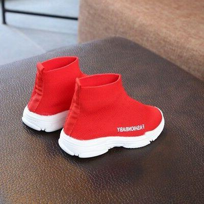 Toddler Shoes Sneakers Boots Anti-Slip