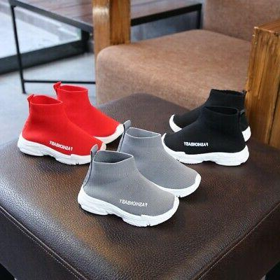 New Child Baby Girl Mesh Ankle Sneakers