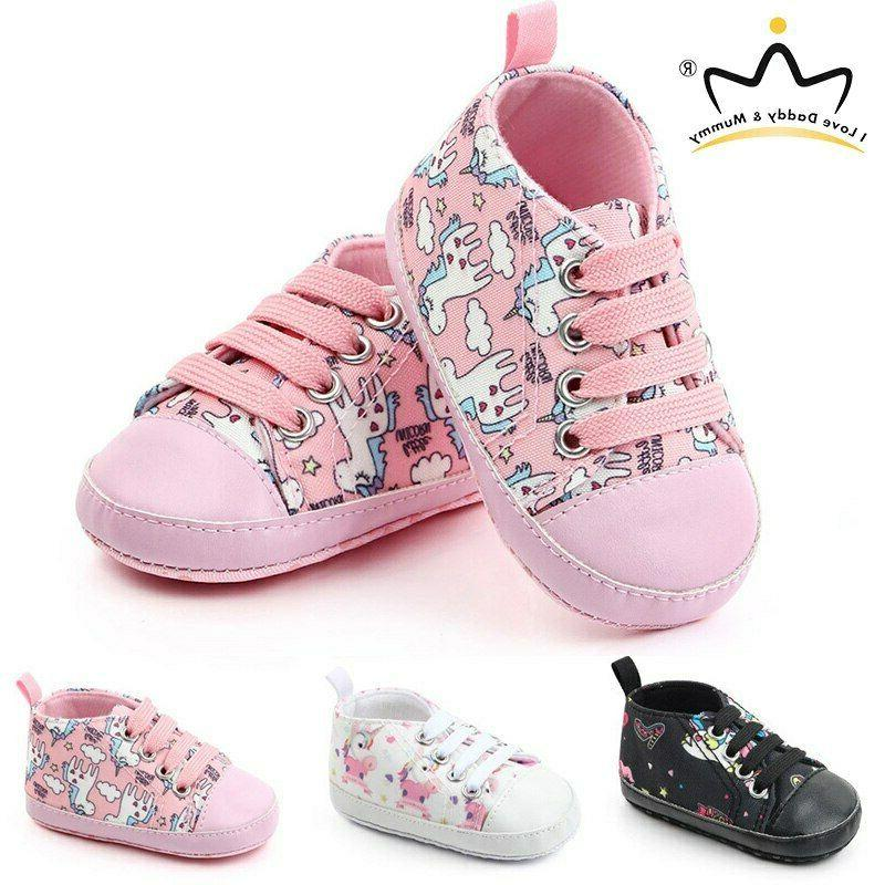 unicorn baby shoes sneakers soft bottom anti