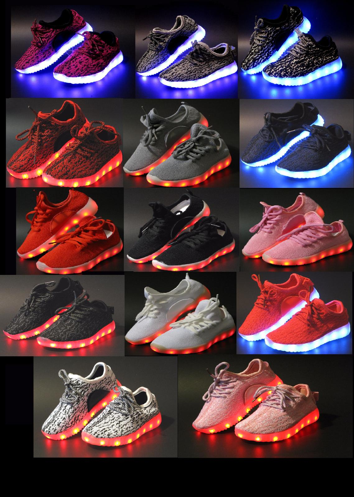 Unisex Light Up LED Shoes For Baby Toddler And Sneakers