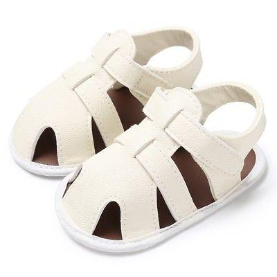 USA Toddler PU Leather Casual Summer Prewalker