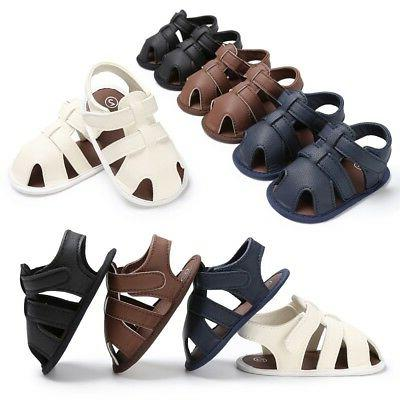 USA Soled PU Shoes Summer Baby