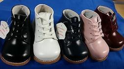 Leather First  Infant Toddler Walking Shoes Assorted Colors
