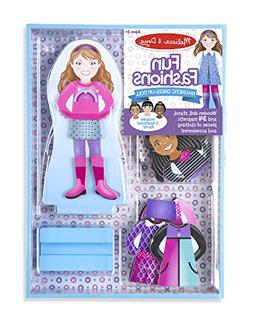 Melissa & Doug Magnetic Dress-up-Fun Fashions Set