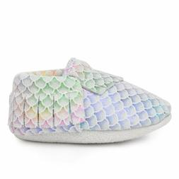 BirdRock Baby Moccasins: Classic Mermaid | Genuine Leather M
