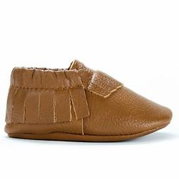 BirdRock Baby Moccasins - Premium Soft Sole Leather Boys and
