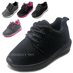 New Baby Toddler Mesh Sneaker Lace Up Tennis Shoe Size 4 to