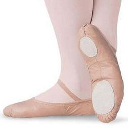 NEW Capezio Balera Pink Split Sole Leather Ballet Shoes Todd