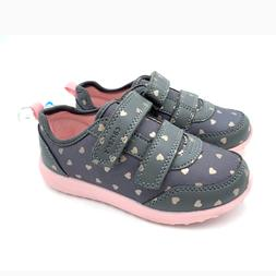 New Carter's Toddler Girls Athletic Heart Print Sneakers Sho