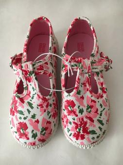 New Harper Canyon Floral toddler Girl Shoes US Size 10M