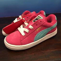 New PUMA GIRLS TODDLER SHOES SIZE 10 Sneakers Suede Leather