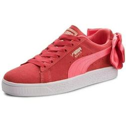 NEW infant toddler ORIGINAL PUMA SUEDE BOW Jr CASUAL SHOES S