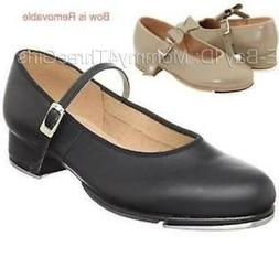 New Bloch Mary Jane MJ Buckle Tan or Black Dance Tap Shoes T