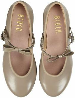 NEW NO BOX BLOCH GIRLS TODDLER TAN TAP SHOES 7 1/2 N REMOVAB