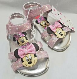 NEW NWT Baby or Toddler Disney Minnie Mouse Sandals Size 6 7