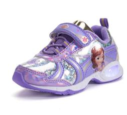 NEW NWT Disney Sofia the First Light Up Baby/Toddler Sneaker
