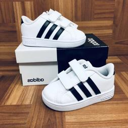 *NEW* Adidas Original Baseline CMF  White Running Shoes Snea