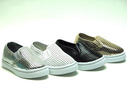 New Slip On Flats For Baby Toddler Girls Or Boys Faux Leathe