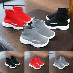 New Style Child Toddler Baby Boy Girl Mesh Ankle Boots Sport