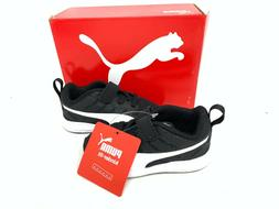 NEW! Puma Toddler Boy's Flare Mesh Shoes Black/White Size:6