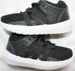 NEW Toddler Boys Black SWIGGLES Knit Athletic Sneakers Shoes
