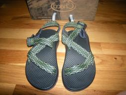 New Toddler Boys Green Chaco Ecotread Sandals, Size 13