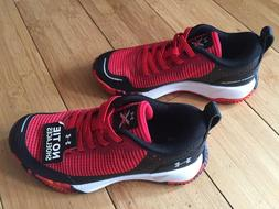 New Toddler Boys Red & Black Under Armour BPS X Level Mainsh