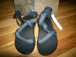 New Toddler Boys Stakes blue Chaco Ecotread Sandals, Size 12