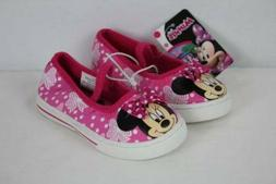 NEW Toddler Girls Tennis Shoes Size 5 Minnie Mouse Pink Mary